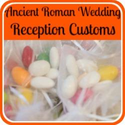 Ancient Roman  wedding receptions - link.