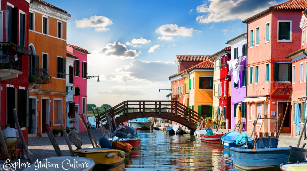 The colourful island of Burano, Italy - the lace-making island. Away from the main crowds of Venice, it's a pleasure to visit.