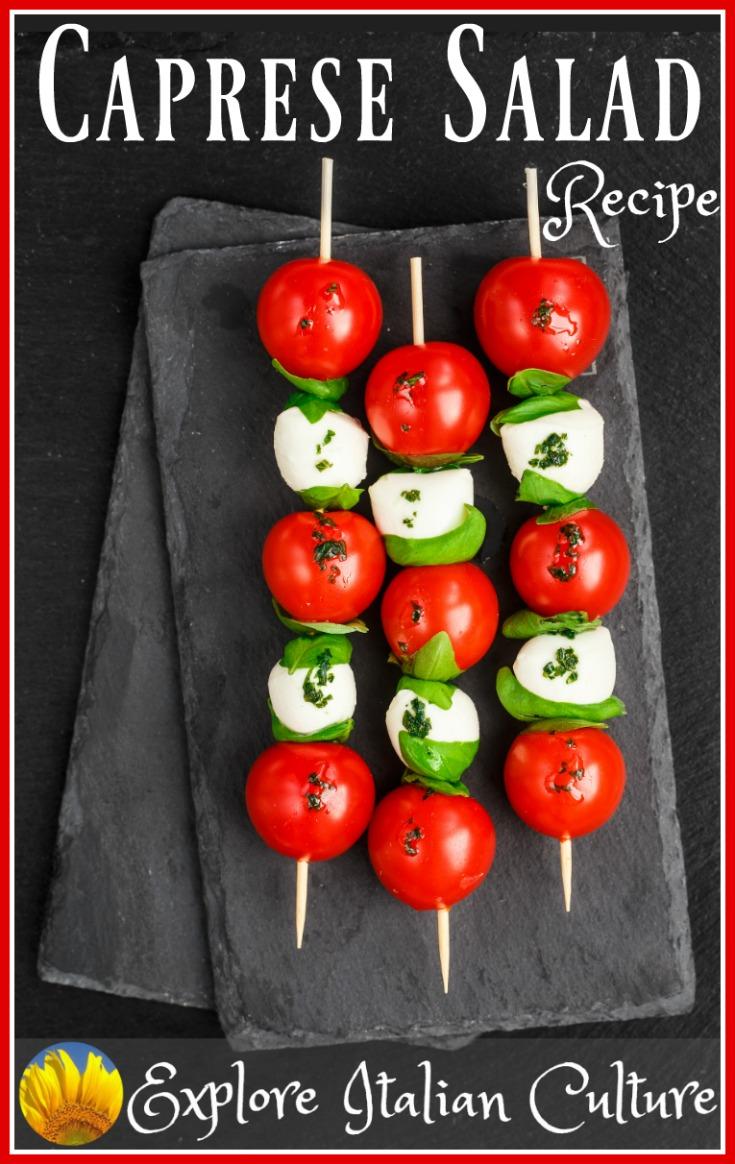 Italian salad recipe, picnic style