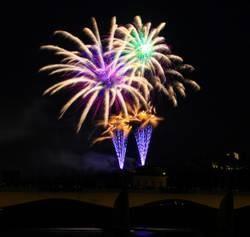 Carnival magic fireworks