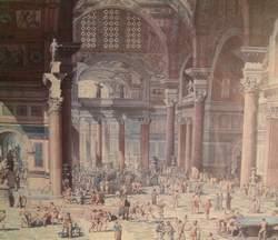 Diocletian baths reconstruction