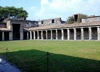 Exercise area, Pompeii