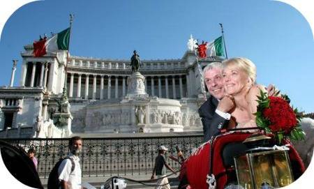 Your Italian tour guide Cath and Mike