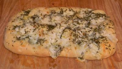Focaccia bread recipe with rosemary