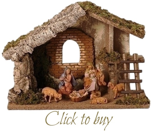 weu0027ve found this is a great gift for a young family who would like a starting point for their nativity collection and would like to choose other characters