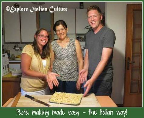 How to make authentic fresh Italian past