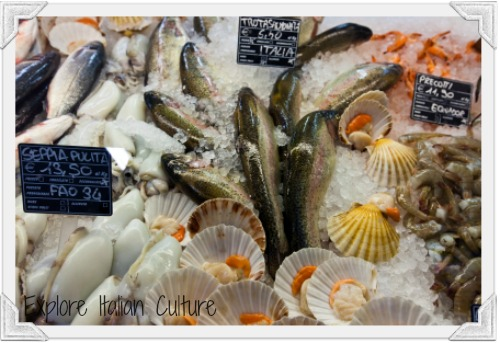 Fish are an important part of the Mediterranean diet.