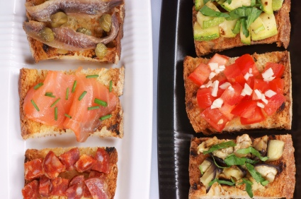 How to make bruschetta toppings