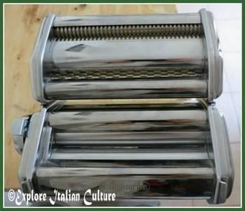 Our Imperia pasta machine