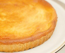 Italian cheesecake complete