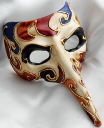 Italian masquerade masks Dr Death