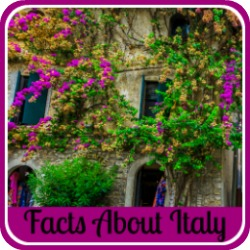 Facts about Italy - link.