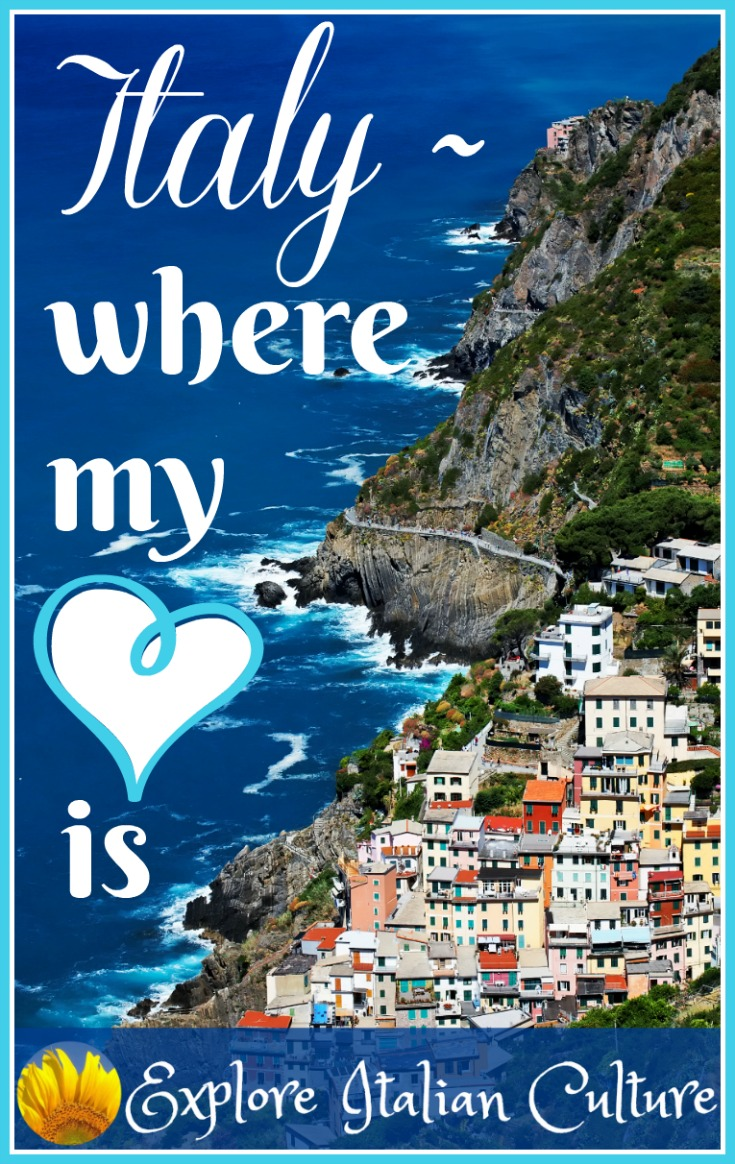 Italy: where my heart is.