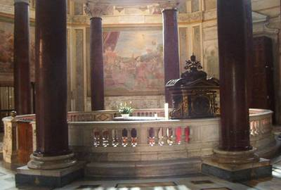 Lent calendar San Giovanni Laterano church