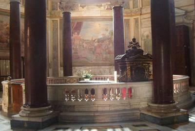 Lent calendar San Giovanni Laterano church