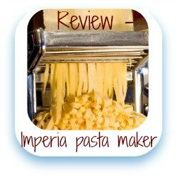 Review of Imperia's manual pasta machine - link