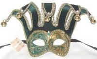 Mardi Gras face mask The Jester