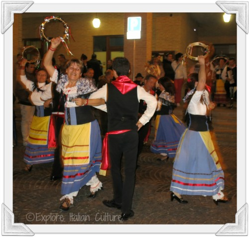 Dancing always forms part of local festivals