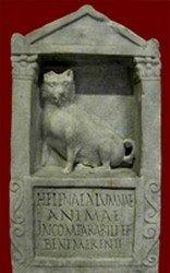 Pet dog tombstone