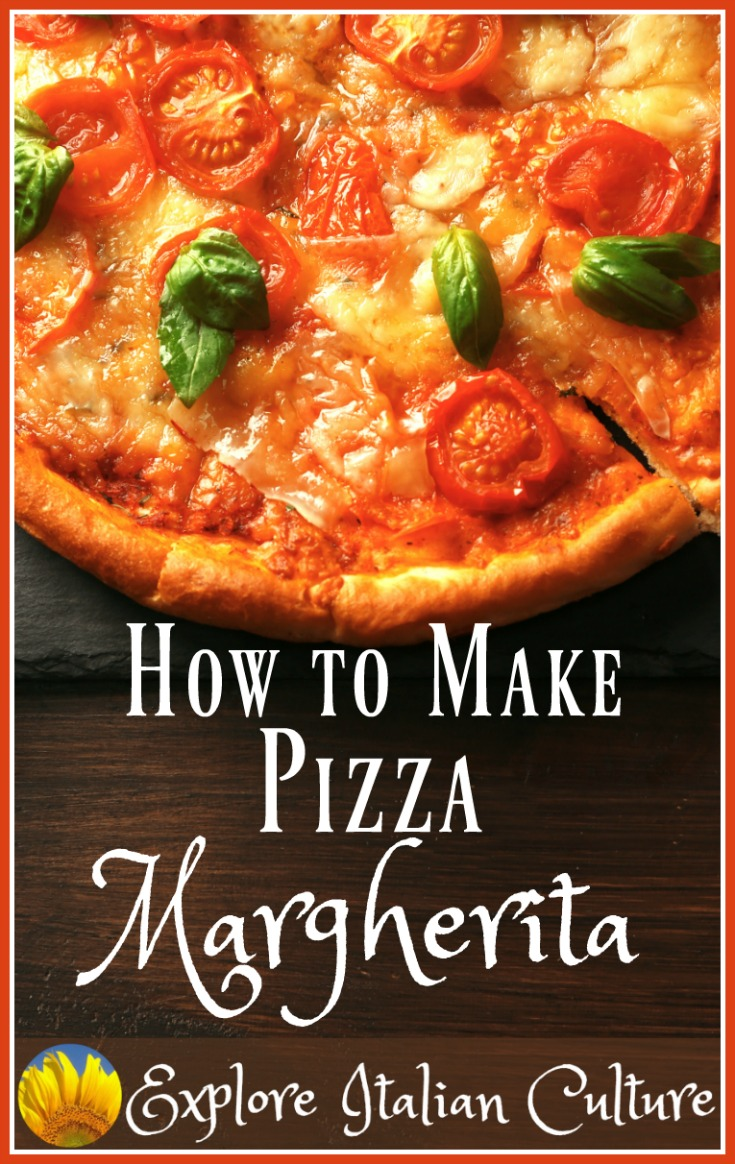 Pizza Margherita - an authentic Italian recipe.