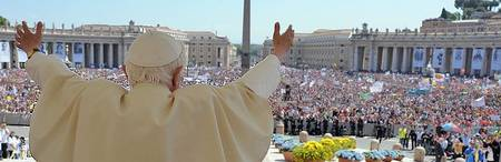 Where does the Pope live