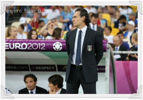 Cesare Prandelli, the Italian national team's coach