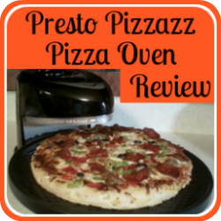 The Presto Pizzazz Pizza Oven - a Review. Link.