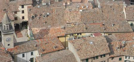 San Marino rooftops