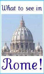 Things to see in Rome link