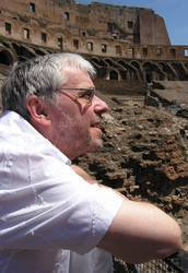 The Roman Colosseum and Mike