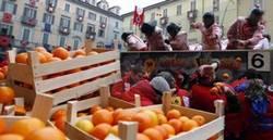 Traditions of Mardi Gras in Ivrea