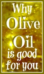 Why olive oil is good for you link